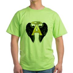 Archangel Wings Green T-Shirt