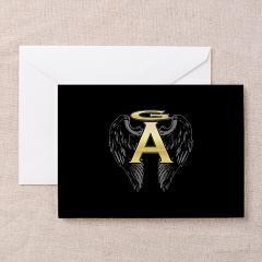Archangel Wings Greeting Card
