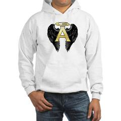 Archangel Wings Hooded Sweatshirt