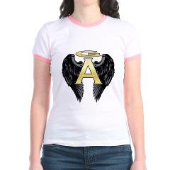Archangel Wings Jr. Ringer T-Shirt