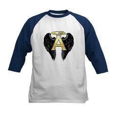 Archangel Wings Kids Baseball Jersey