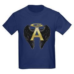 Archangel Wings Kids Dark T-Shirt