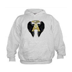 Archangel Wings Kids Hoodie