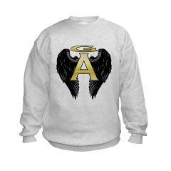 Archangel Wings Kids Sweatshirt