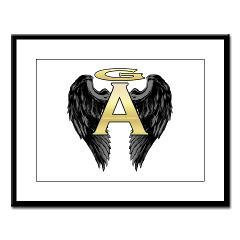 Archangel Wings Large Framed Print