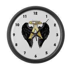 Archangel Wings Large Wall Clock