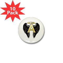 Archangel Wings Mini Button (10 pack)