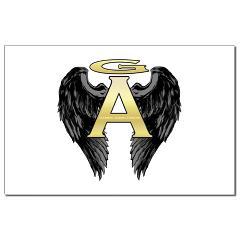 Archangel Wings Mini Poster Print