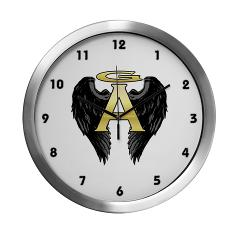 Archangel Wings Modern Wall Clock