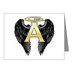 Archangel Wings Note Cards (Pk of 10)