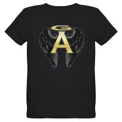 Archangel Wings Organic Kids T-Shirt (dark)