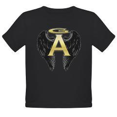 Archangel Wings Organic Toddler T-Shirt (dark)