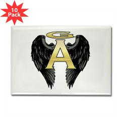 Archangel Wings Rectangle Magnet (10 pack)