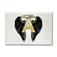 Archangel Wings Rectangle Magnet