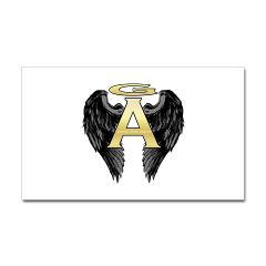 Archangel Wings Rectangle Sticker