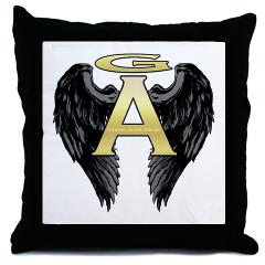 Archangel Wings Throw Pillow