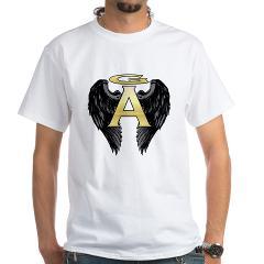 Archangel Wings White T-Shirt