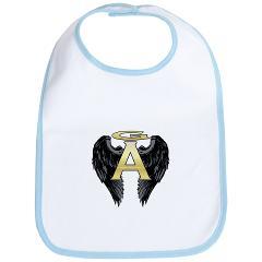 Gabriel Angel Design Archangel Wings Logo Bib