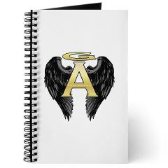 Gabriel Angel Design Archangel Wings Logo Journal