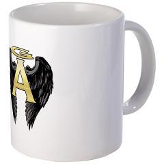 Gabriel Angel Design Archangel Wings Logo Mug