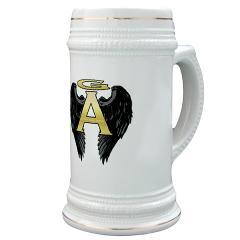 Gabriel Angel Design Archangel Wings Logo Stein