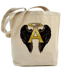 Gabriel Angel Design Archangel Wings Logo Tote Bag