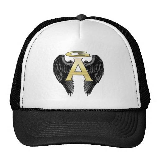 Gabriel Angel Design Wings Logo Hats