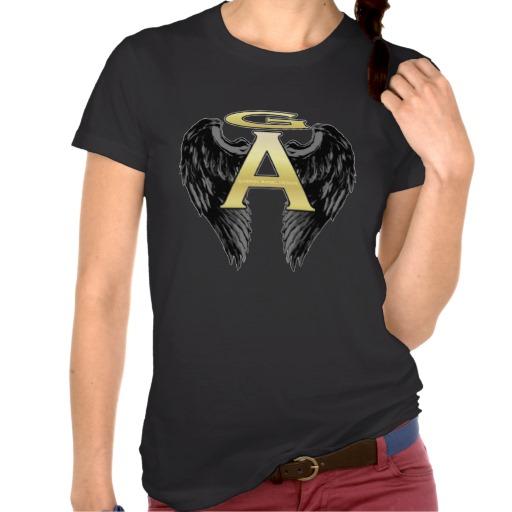 Gabriel Angel Design Wings Logo Shirt