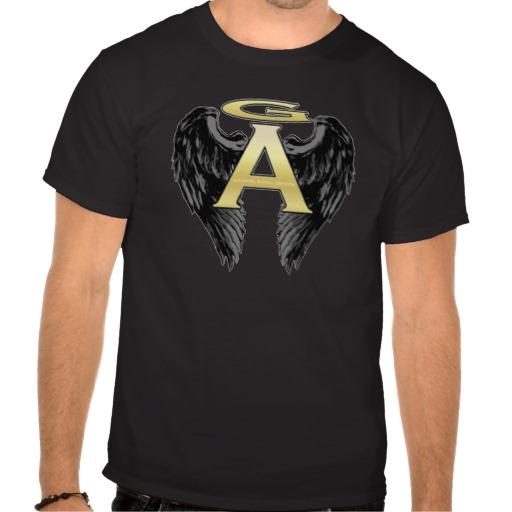 Gabriel Angel Design Wings Logo Tees