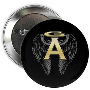 """Archangel Wings 2.25"""" Button"""