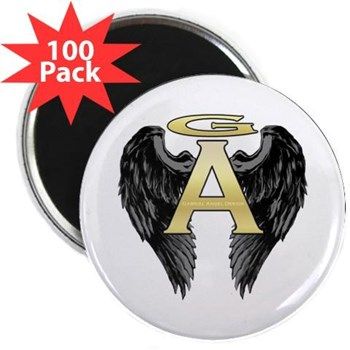 "Archangel Wings 2.25"" Magnet (100 pack)"