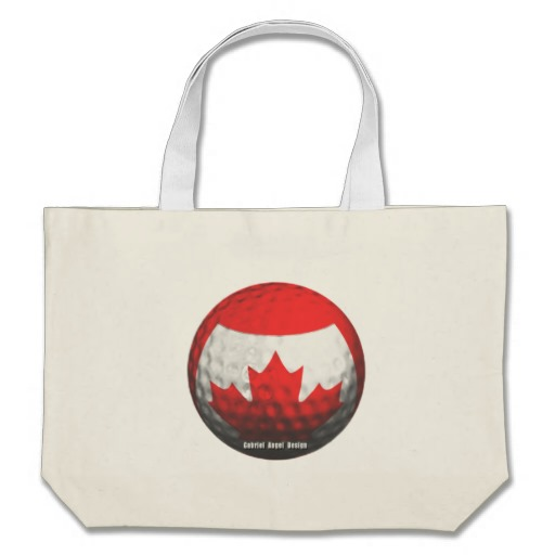 Canada Golf Canvas Bags