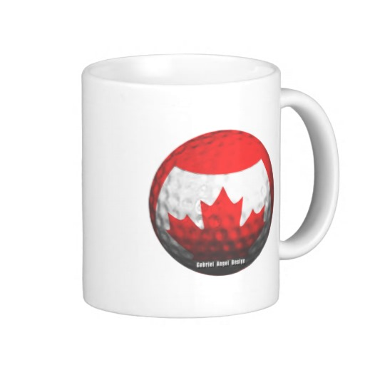 Canada Golf Coffee Mug
