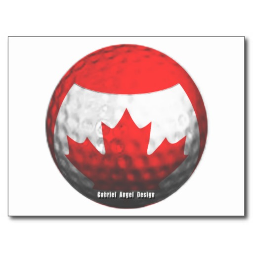 Canada Golf Post Card