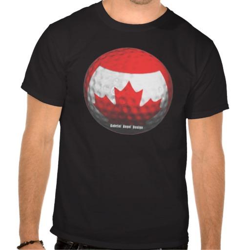 Canada Golf Tee Shirts