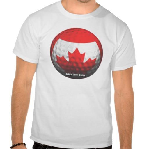 Canada Golf Tshirts