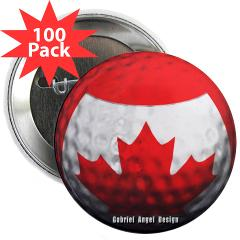"Canadian Golf 2.25"" Button (100 pack)"