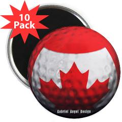 "Canadian Golf 2.25"" Magnet (10 pack)"