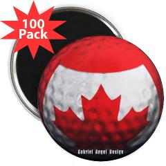 "Canadian Golf 2.25"" Magnet (100 pack)"