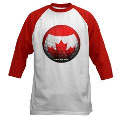 Canadian Golf Baseball Jersey