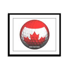 Canadian Golf Framed Panel Print