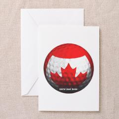 Canadian Golf Greeting Cards (Pk of 10)