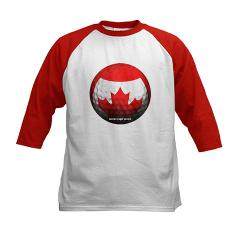 Canadian Golf Kids Baseball Jersey