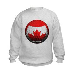 Canadian Golf Kids Sweatshirt