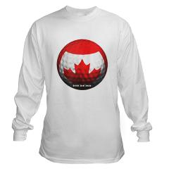 Canadian Golf Long Sleeve T-Shirt