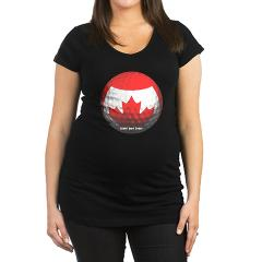 Canadian Golf Maternity Dark T-Shirt
