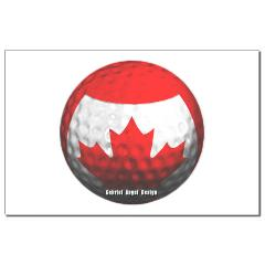 Canadian Golf Mini Poster Print