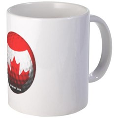 Canadian Golf Mug