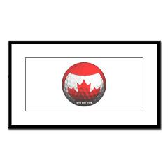 Canadian Golf Small Framed Print