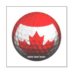 Canadian Golf Small Poster